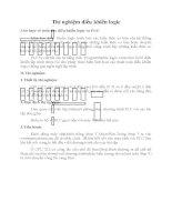 Báo cáo thí nghiệm điều khiển logic