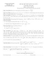 Đề thi thử môn toán 2016 trường THPT bố hạ lần 2