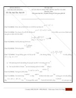Đề thi thử môn toán thầy dũng mathclass