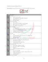 TOEFL iBT listening idioms test 23