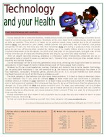5560 technology and your health