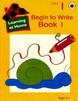 Begin to write book1