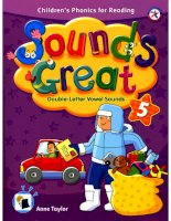 Double letter vowel sounds book
