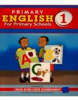 Primary english 1 for primary schools