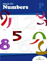 hands on numbers