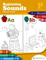beginning sounds picture book