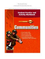 Grade 3 student practice  activity workbook   macmillan mcgraw hill