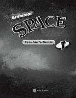 Grammar space 1 TG