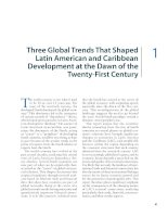 Three Global Trends That Shaped Latin American and Caribbean Development at the Dawn of the TwentyFirst Century