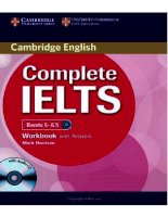 Complete IELTS bands 5 6 5 WB with answer