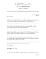 a letter to aunt monica