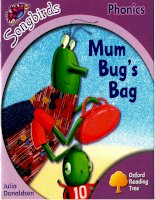 Mum bugs bag
