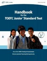 toefl junior student handbook