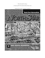 NORTHSTAR reading and writing   pearson longman BASIC LOW
