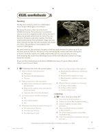 CLIL worksheets