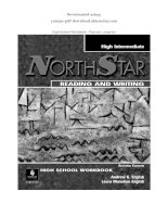 NORTHSTAR READING AND WRITING   pearson longman HIGH INTERMEDIATE
