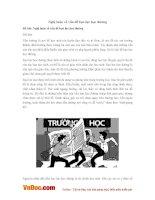 Văn mẫu lớp 9: Nghị luận về vấn đề bạo lực học đường