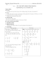 giáo án dạy buổi 2 toán 7