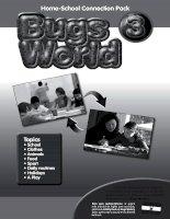 Bugs world 3 reinforcement pack