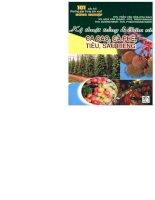 101 câu hỏi thường gặp trong sản xuất nông nghiệp -kỹ thuật trồng và chăm sóc cacao cà phê tiêu sầu riêng
