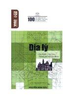 EBOOK 100 câu hỏi đáp về địa lý GIA ĐỊNH sài gòn   NGUYỄN ĐÌNH đầu