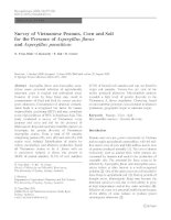 survey of vietnamese peanuts