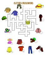 6632 clothes crossword  key