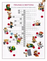 44433 feelingsemotions crossword puzzle