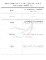 GMAT vocabulary flash cards392