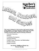 Scholastic prek skills letters numbers amp amp shapes