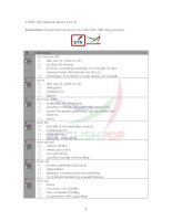 TOEFL iBT listening idioms test 24