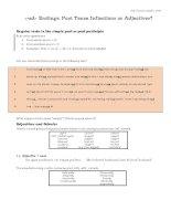 030   ed adjectives