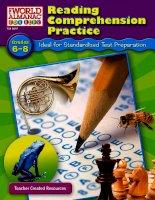 reading comprehension grade 6 to 8