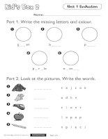 Kids box 2 tests