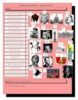 3166 vocabulary matching worksheet  quiz  american icons  landmarks