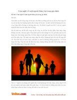 Văn mẫu lớp 6: Cảm nghĩ về một người thân yêu trong gia đình