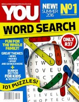 YOU word seach   no 1 summer 2016