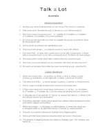 australia discussion words question sheet