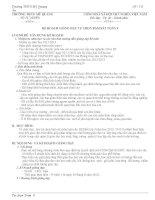 Giáo án tự chọn bám sát toán 9 kì 1