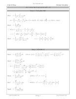 Tuyển tập 200 bài tích phân hay và khó ôn thi quốc gia môn toán