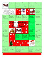 675 board game  christmas  santa
