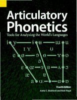 Bickford and floyd articulatory phonetics