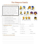 28447 the simpsons family  exercises