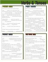 3025 verbs  tenses