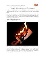 Những đồ vật không nên đốt bỏ để tránh gặp xui