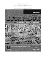 NORTHSTAR READING AND WRITING   pearson longman ADVANCED