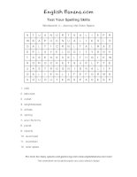 wordsearch 4 journey into outer space