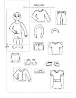 20887 paper doll clothing for kindergarten and 1st graders