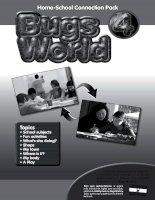 Bugs world 4 reinforcement pack