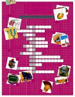 52926 school subjects crossword puzzle
